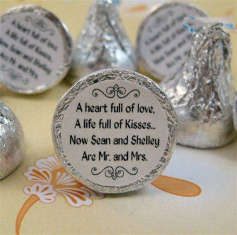 Personalized Round Sticker Labels For Hershey Kiss Favors Customer Ideas Onlinelabels Com Personalized Hershey Kisses Stickers Template