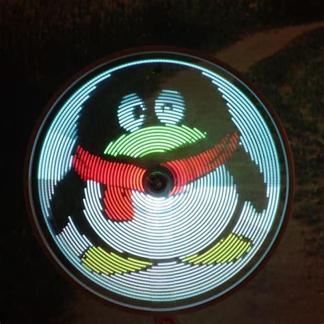 64 Led Lights Diy Bike Bicycle Spoke Light Waterproof Programmable Led Light Bulbs