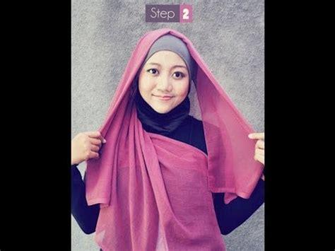 tutorial jilbab zigzag cara hijab model zigzag tutorial simpel dan praktis