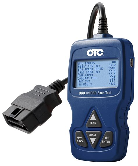scanning tool trilingual obd ii eobd can scan tool otc tools