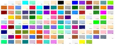 color system system drawing color的颜色对照表 马语者 博客园