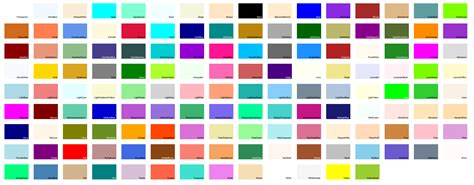 system drawing color的颜色对照表 马语者 博客园