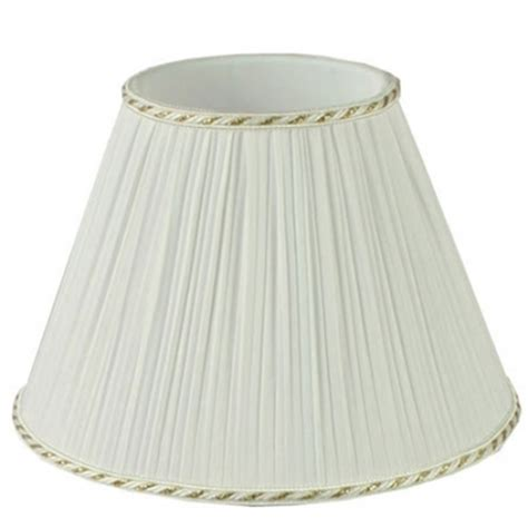 empire pleated l shades pleated empire candle shade imperial lighting
