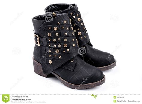 imagenes botas negras botas negras del tobillo