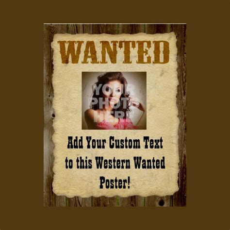 20 Free Wanted Poster Templates To Download Sle Templates Free Wanted Poster Template