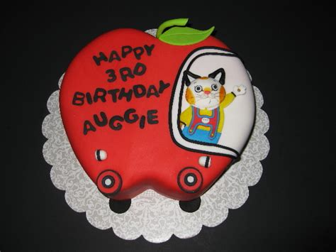 auggies busy world  richard scarry cake