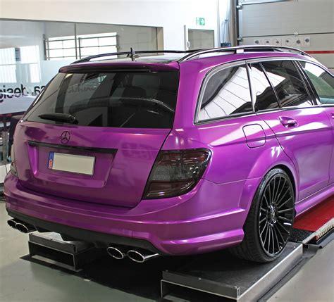 W204 Chromleisten Folieren by Mercedes C63 Amg S204 T Modell Vollfolierung In Candy