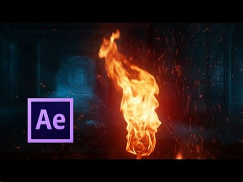 after effects tutorial flaming face of fire!   doovi