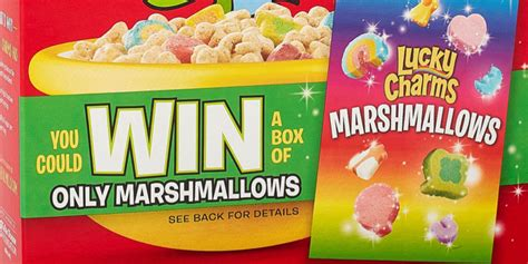 lucky charms marshmallows a taste of general mills
