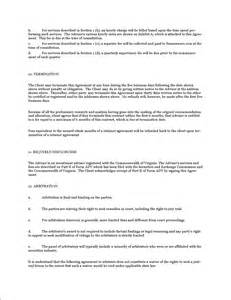 Retainer Agreement Template Doc 10241325 Sample Retainer Agreements Services