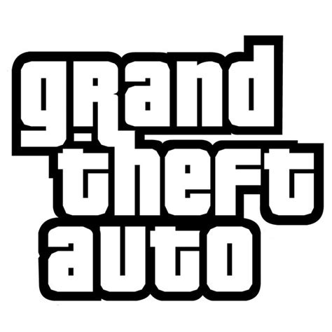 Auto Logo Font grand theft auto font and logo