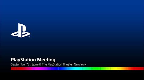 Invite Only Event For Sonys Playstation 3 by Sony Confirms Playstation Meeting For Sept 7 Where New