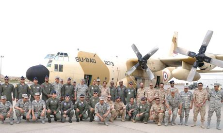 egyptian air force units in kuwait for joint military