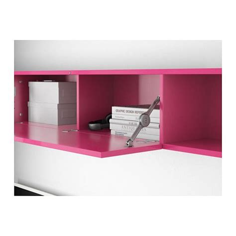 mostorp wall shelf pink ikea studio