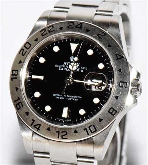 Rolex Uhr Polieren by Original Rolex Explorer Ii Stahl Uhr Ref 16570 Von 2008