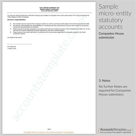 template accounts for small company image collections