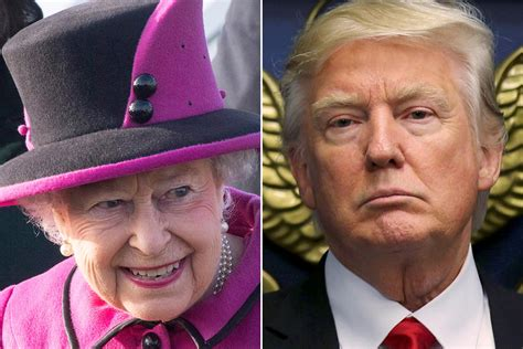 Queen Elizabeth Donald Trump | can the queen tame trump monarch and tycoon due to meet