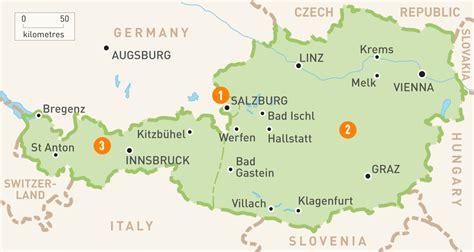 austria regions map map of austria austria regions guides guides