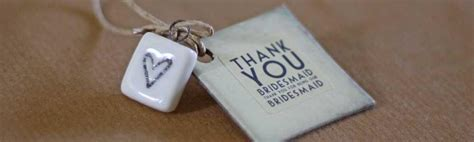 wedding gifts gift tags keepsakes for bridesmaids