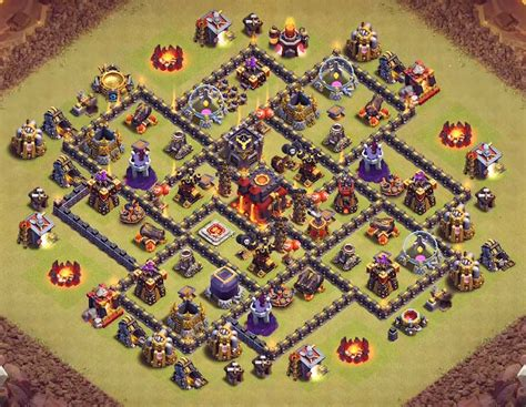 coc layout anti golem top 53 best th8 war base farming trophy hybrid