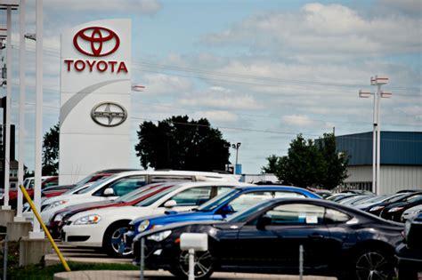 Toyota Dealers Illinois Frigid Weather Pulls U S Auto Sales