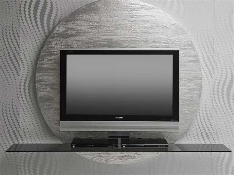 contemporary  black white tv stands  pacini