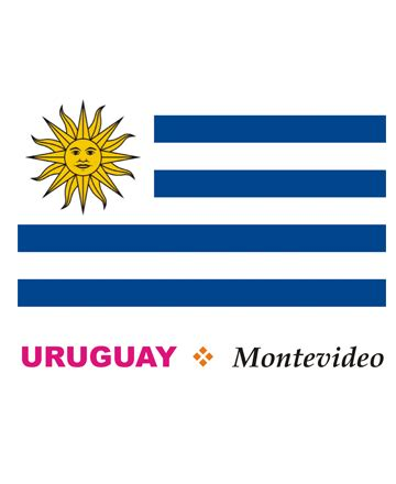 Uruguay Flag Coloring Pages For Kids To Color And Print Uruguay Flag Coloring Page