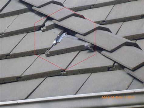Cement Roof Tiles Home Inspector Dallas Dallas Home Inspector Finds Slipping Cement Roof Tile