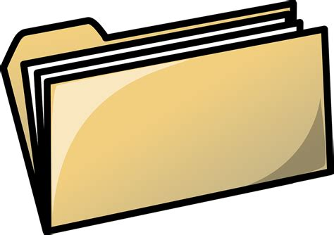 Kostenlose Vektorgrafik: Ordner, Büro, Dateien, Corporate