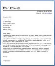 Commercial Real Estate Cover Letter by Commercial Property Manager Cover Letter Work Cover Letters Real Estates And