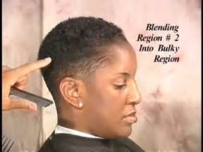 cut own hair with clippers for black w0men clipper cutting made simple youtube