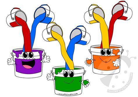 colori per bambini disegni per bambini sui colori primari e secondari