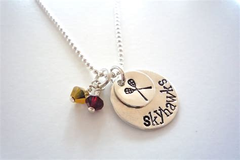 sports for jewelry lacrosse jewelry team sports necklace lacrosse necklace