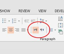 change powerpoint slides to lefttoright microsoft