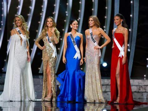 imagenes de miss filipinas en miss universo miss universo 2017 estos son los 8 datos que debes de