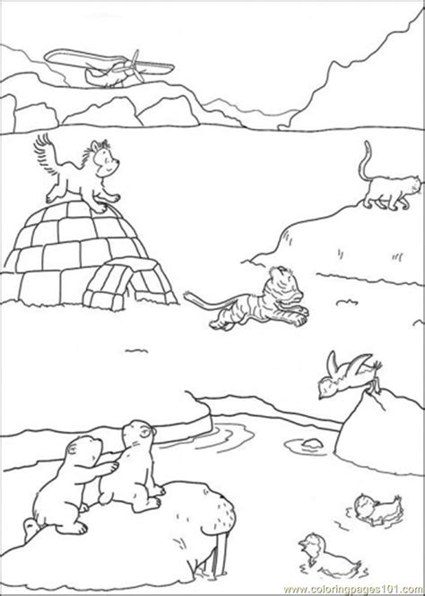 Arctic Animals Coloring Pages For Preschoolers polar arctic animals coloring pages prima r tipps arctic animals curriculum and