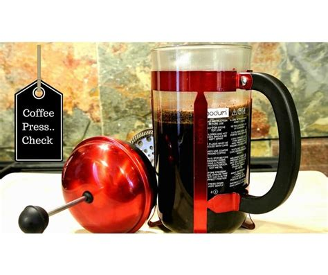 Coffee Maker Kris bodum press coffee maker check