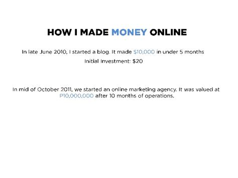 Ways To Actually Make Money Online - 9 ways to really make money online
