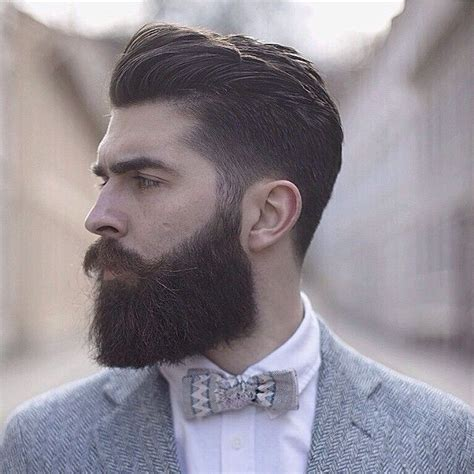 mens hairstyles with beards chris millington thick beard and mustache