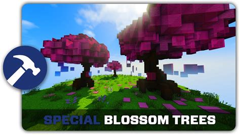 How To Make A Cherry Blossom Tree Out Of Paper - minecraft building tutorial how to build cherry blossom