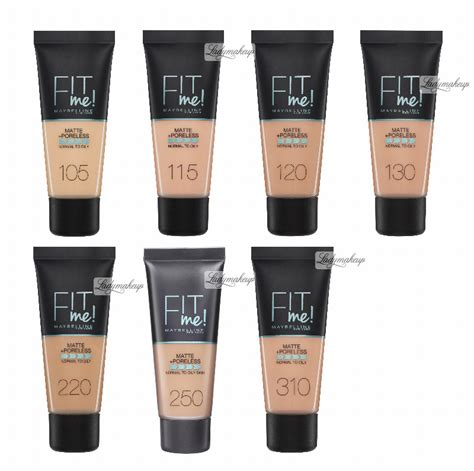 Maybelline Fit Me maybelline fit me liquid foundation for normal to