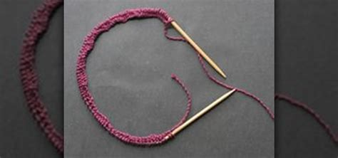 how to knit in the with circular needles how to knit on circular needles or knit in the