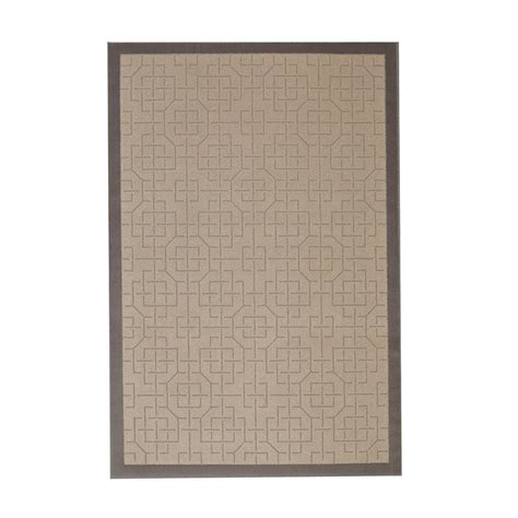 jeff lewis rugs jeff lewis caitlyn linen 5 ft x 8 ft area rug 496807 the home depot