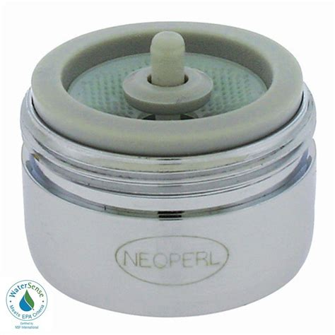 Water Saving Faucet Aerator by Neoperl 1 5 Gpm Regular Auto Clean Water Saving