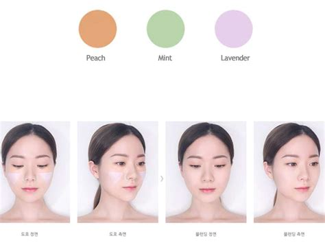 lavender color corrector box korea innisfree my palette my color corrector