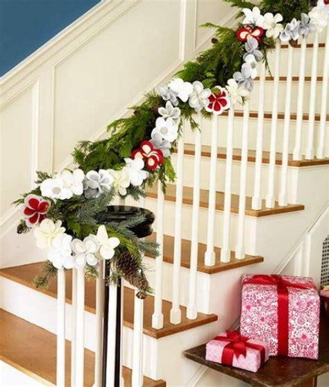 escaleras decoracion navidad hoy lowcost