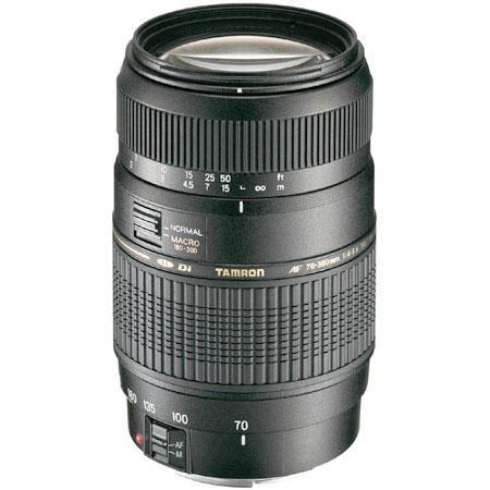 tamron 70 300mm f/4 5.6 di ld 1:2 af macro zoom lens for