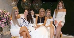 Bridal Shower Presents Australia Khadijeh Mehajer S Bridal Shower Dresses Popsugar
