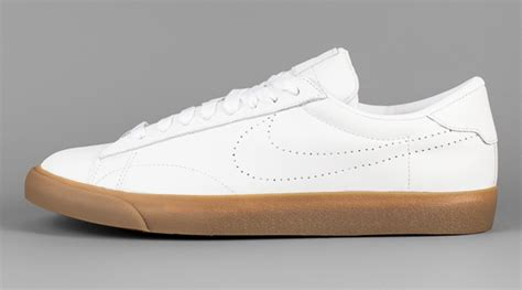 white sneakers gum sole the us open is coming so are more nikecourt sneakers