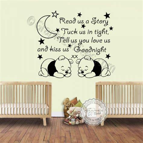 winnie the pooh nursery stickers thenurseries